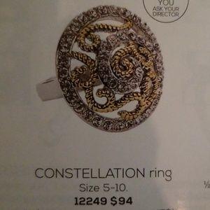 New Beautiful Park Lane Size 8 Constellation Ring